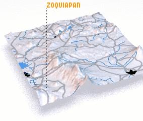 3d view of Zoquiapan
