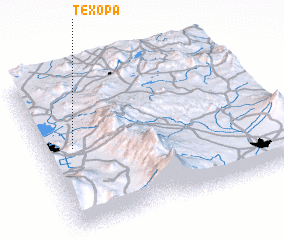 3d view of Texopa