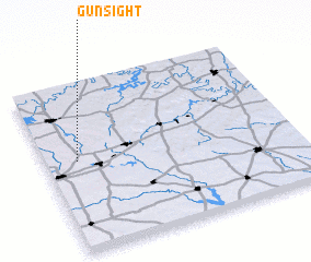 3d view of Gunsight