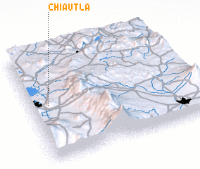 3d view of Chiautla