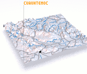 3d view of Cuauhtémoc