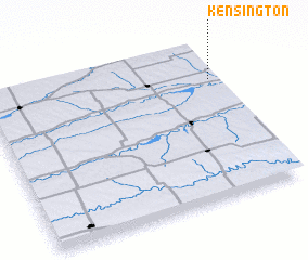 3d view of Kensington