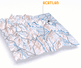 3d view of Acatlán