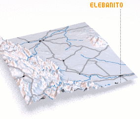 3d view of El Ebanito