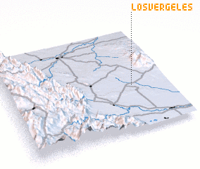 3d view of Los Vergeles