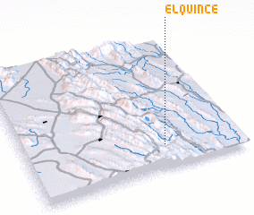 3d view of El Quince