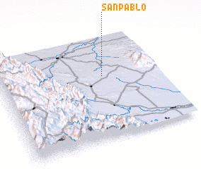 3d view of San Pablo