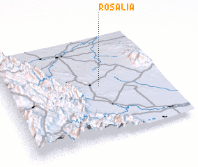 3d view of Rosalía