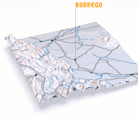 3d view of Borrego