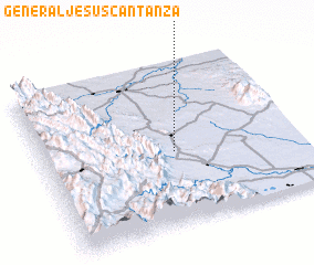 3d view of General Jesús Cantanza