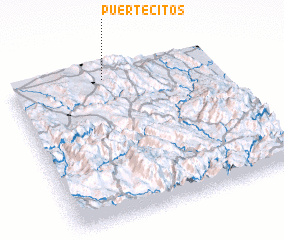 3d view of Puertecitos