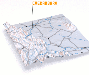 3d view of Cuerámbaro