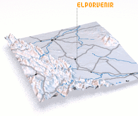 3d view of El Porvenir