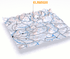 3d view of El Manguí