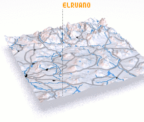 3d view of El Ruano