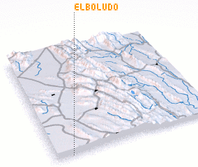 3d view of El Boludo