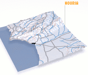 3d view of Houria
