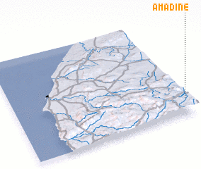 3d view of Amadine