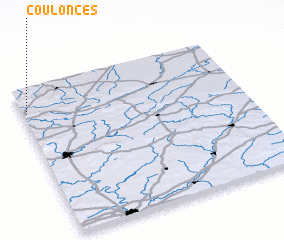 3d view of Coulonces