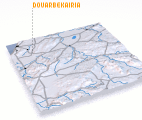 3d view of Douar Bekaïria