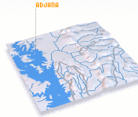3d view of Adjana