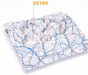 3d view of Gistaín