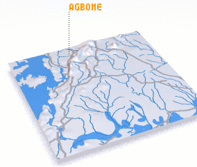 3d view of Agbome