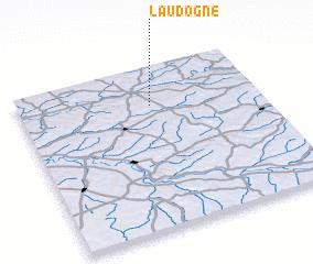 3d view of Laudogne