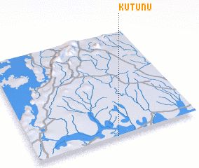 3d view of Kutunu