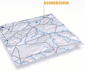 3d view of Douar Bekria