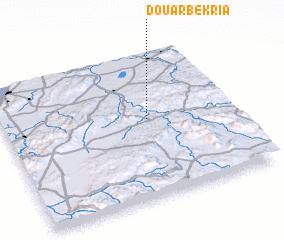 3d view of Douar Bekria