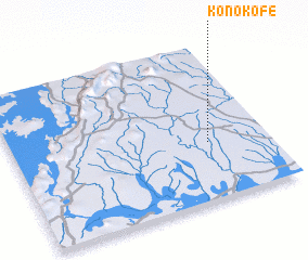 3d view of Konokofe