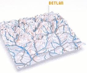 3d view of Betlán