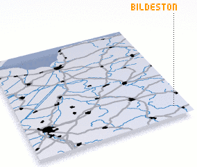 3d view of Bildeston