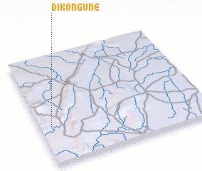3d view of Dikonguné