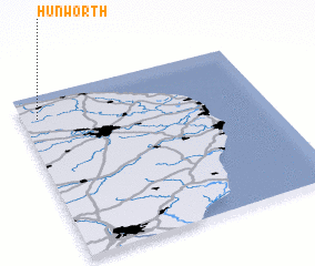 3d view of Hunworth