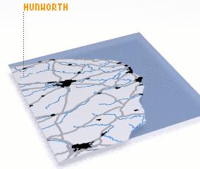 3d view of Hunworth
