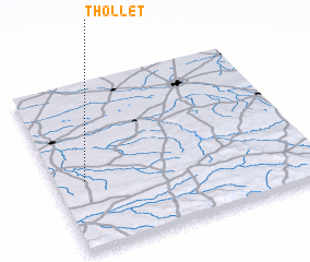 3d view of Thollet