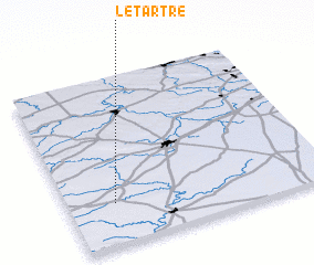3d view of Le Tartre