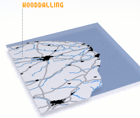 3d view of Wood Dalling