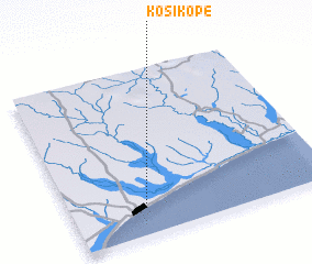 3d view of Kosi Kopé