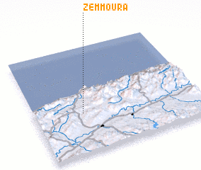3d view of Zemmoura
