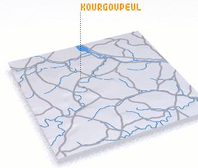 3d view of Kourgou Peul