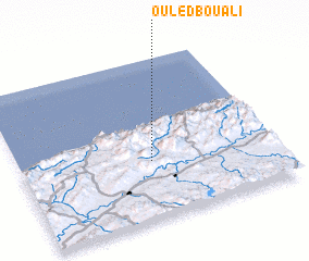 3d view of Ouled Bou Ali