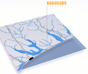 3d view of Badougbé