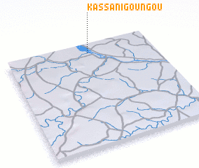 3d view of Kassani Goungou