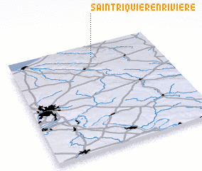 3d view of Saint-Riquier-en-Rivière