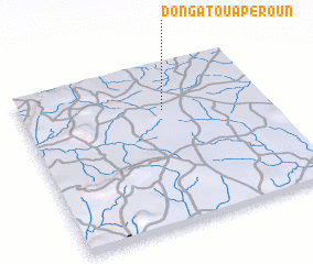 3d view of Dongatouapèroun