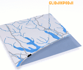 3d view of Glidji Kpodji