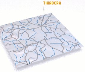 3d view of Tiwabéra